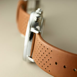 Fairfield Chrono Leather Strap