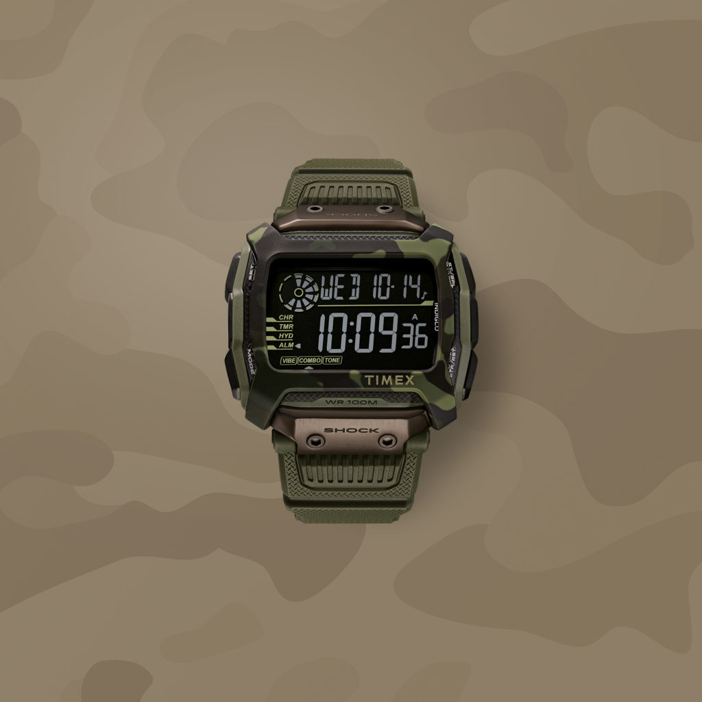 timex command watch