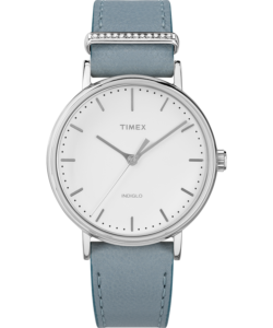 timex fairfield crystal watch