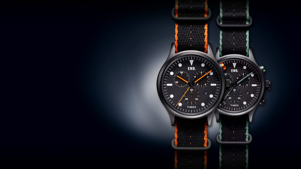timex end blackout watch