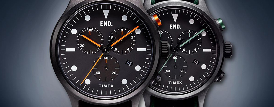 Timex and END. Together Again
