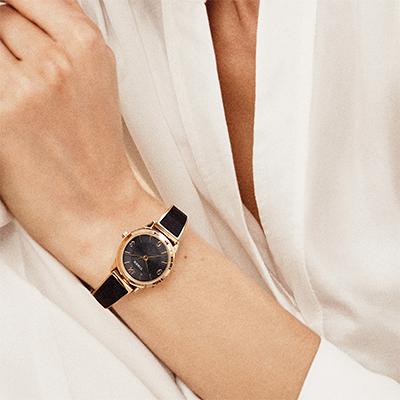timex fashion stretch bangle watch