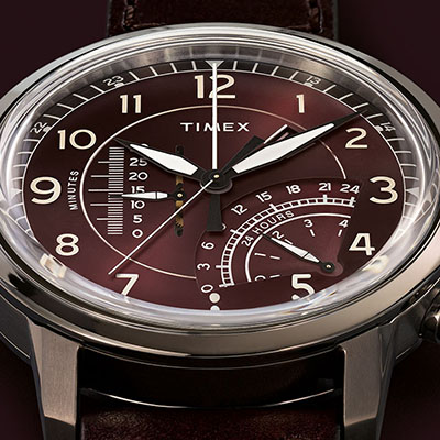 timex waterbury linear chronograph
