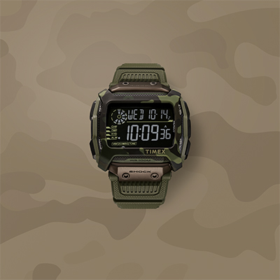 Timex Command™ Shock 54mm Resin Strap Watch