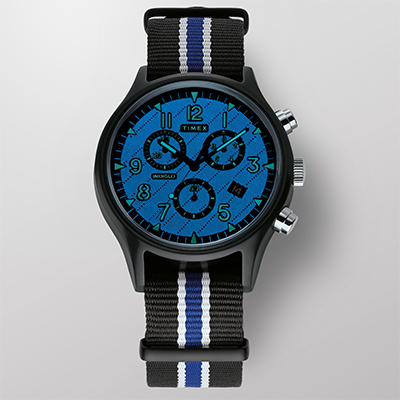 MK1 Supernova™ Chronograph 42mm Leather Strap Watch