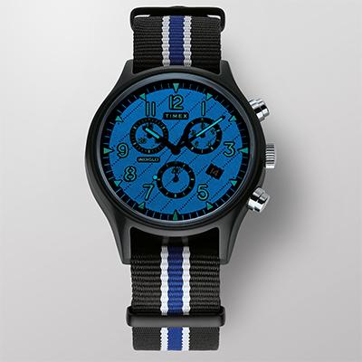 MK1 Supernova™ Chronograph 42mm Leather Strap Watch