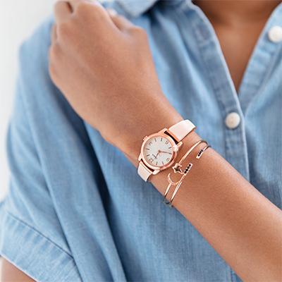 Fashion Stretch Bangle 25mm Expansion Band Watch