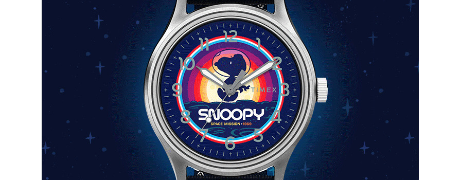 Timex x Space Snoopy Collection Launches for Moon Landing Anniversary