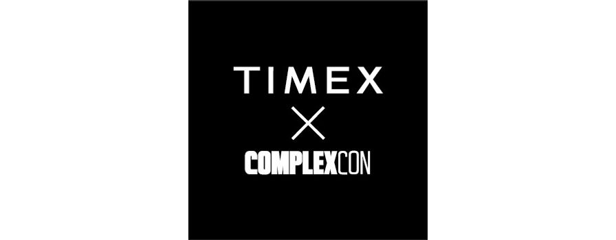 Timex Returns to ComplexCon With Exciting New Drops & Collabs