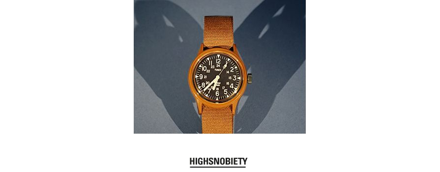 "YMC Gives Timex's Classic MK1 a ""Burnt Rubber Brown"" Reissue"