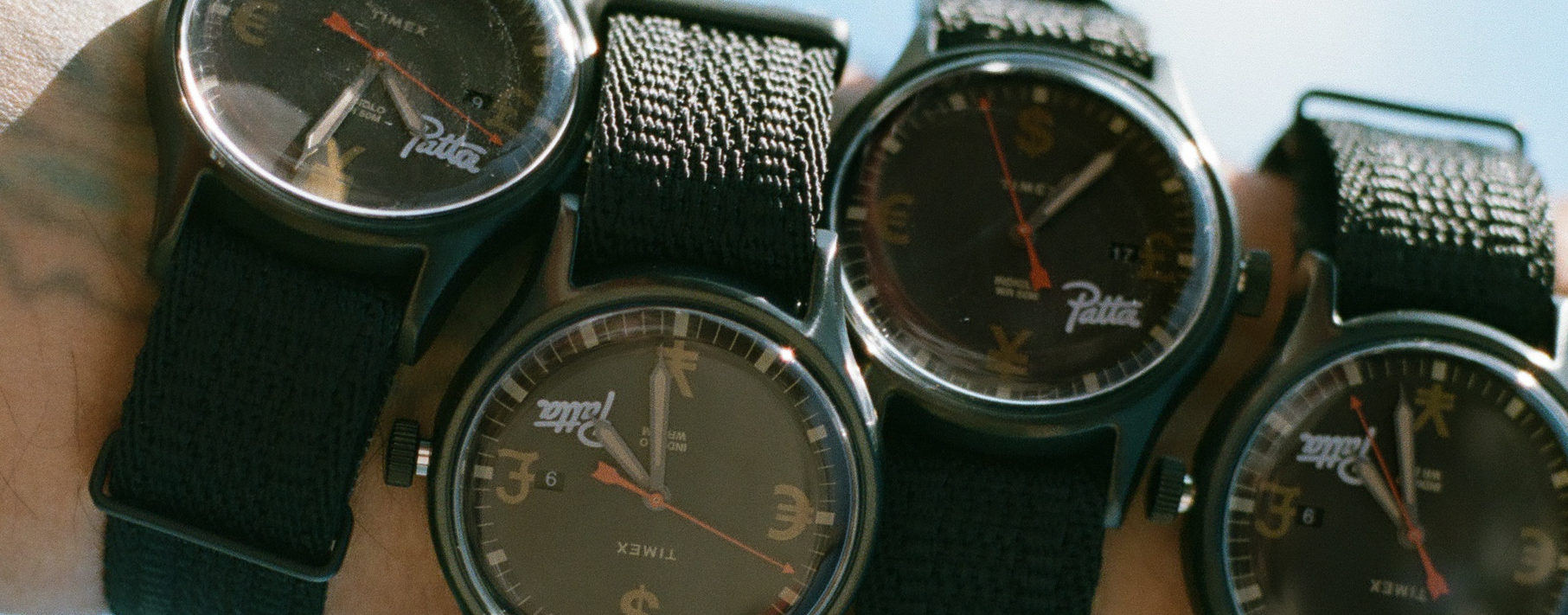 Timex x Patta: Amsterdam Street Style Meets American Watchmaking