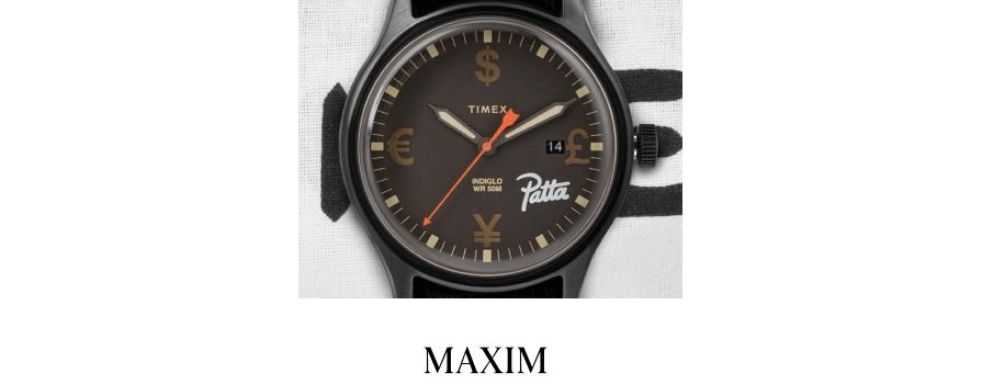 This Timex x Patta 'TIME IS MONEY' Watch Is All About the Benjamins