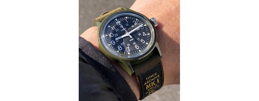 In The Field: This Globetrotting Soldier Wore His Timex All Over the World