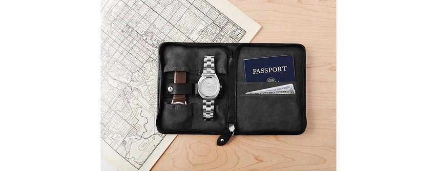 Travel Pouches & Watch Rolls from Timex