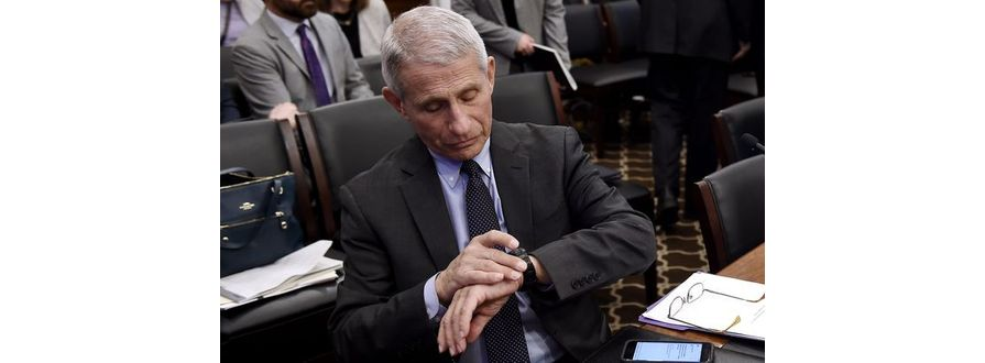 In The Press: Dr. Anthony Fauci Has Always Been A Timex Man