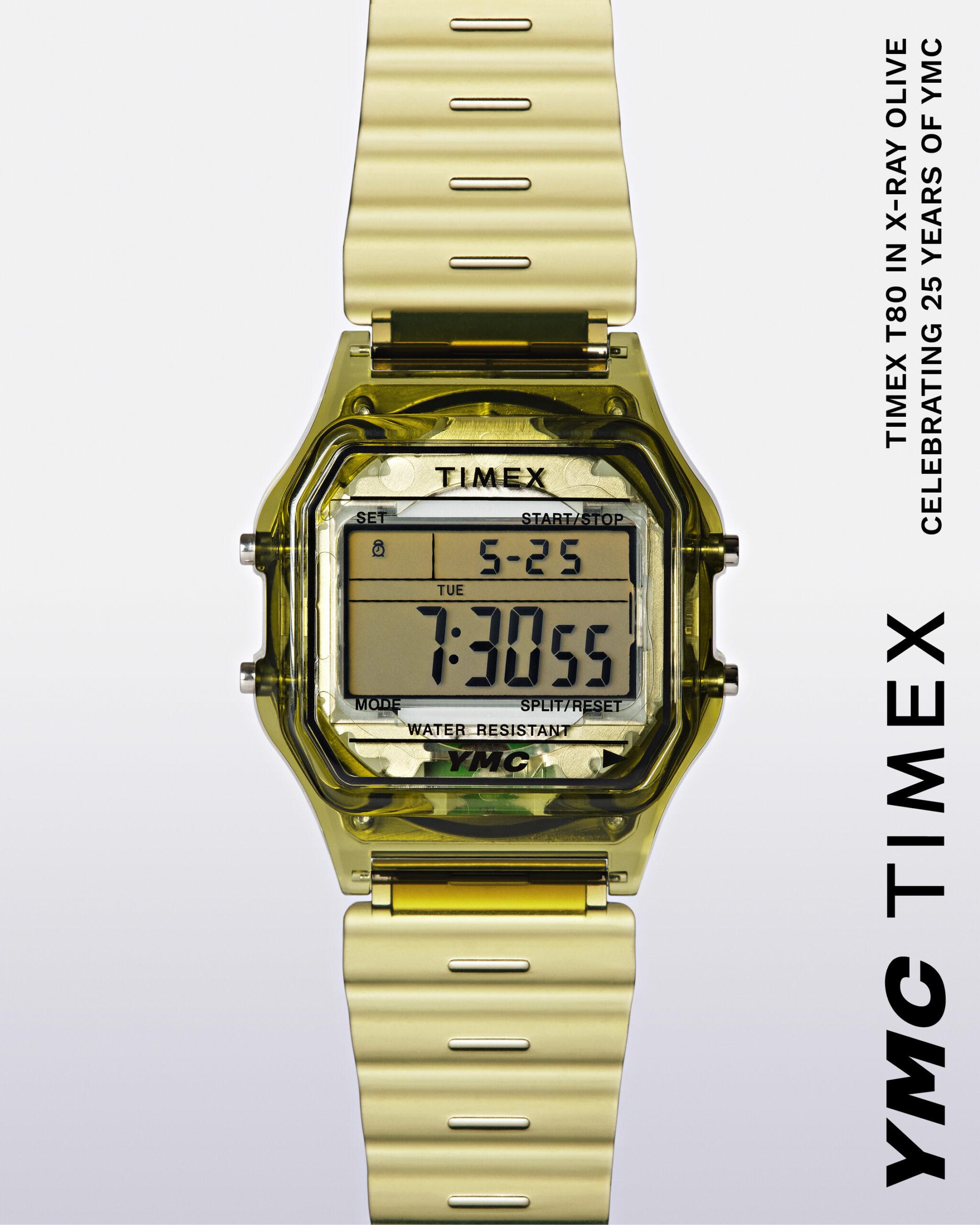 Timex YMC Gold watch