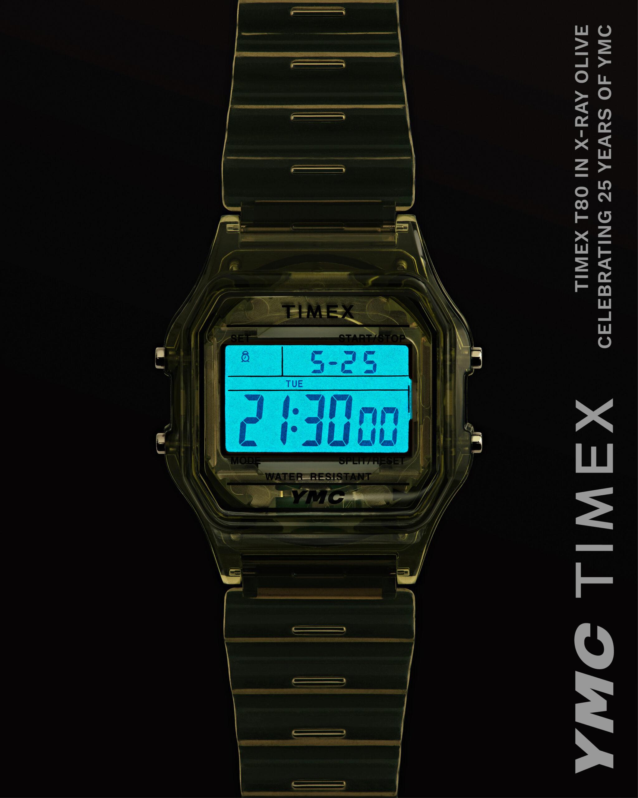 YMC Timex watch with Indiglo