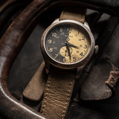 Vintage Watch with leather strap