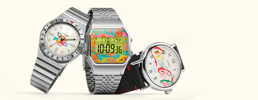TIMEX X COCA-COLA KEEP TIME IN PERFECT HARMONY